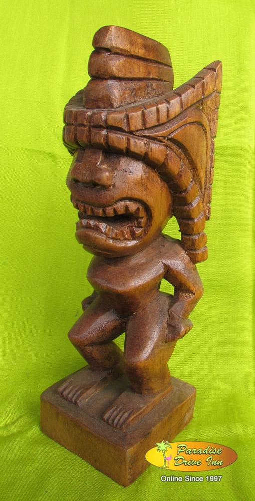 Wholesale bali wood carving tiki supplier xw